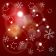 Winter background with stars and snowflakes — Stock Photo #13749457