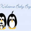 Welcome Baby - Stock Photo