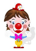 Funny clown — Stock Vector