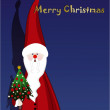 SantClaus & Christmas tree — Stockfoto #28540727
