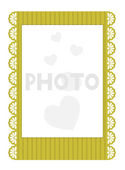 Vector invitation to the wedding isolated on white background. Eps 10 — Vettoriale Stock
