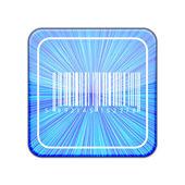 Vector version. Bar code icon. Eps 10 illustration — Stock Vector
