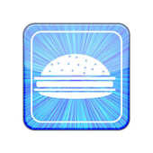 Vector version. Hamburger icon. Eps 10 illustration — Stock Vector
