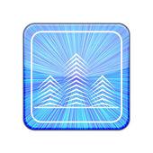 Vector version. Real estate icon. Eps 10 illustration — Stock Vector