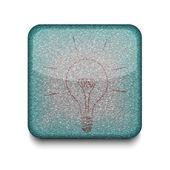 Vector idea icon. Eps10. Easy to edit — Stock Vector