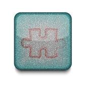Vektor pussel ikon. eps10. lätt att redigera — Stockvektor