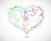 Vector love background. Eps10 — Stock Vector
