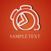 Vector de fondo. apliques icono naranja. eps10 — Vector de stock