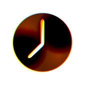 Icona astratta vettoriale su sfondo bianco. eps10 — Vettoriale Stock