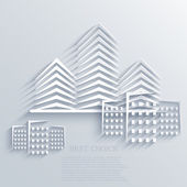 Vector real estate icon background. Eps10 — Stock Vector