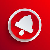 Icono de círculo rojo vector. eps10 — Vector de stock