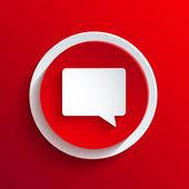 Vektor röda cirkeln ikon. eps10 — Stockvektor
