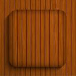 Vector wooden app. Eps10 — Stock Vector