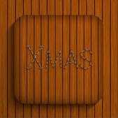 ベクトルのクリスマス木約 eps10 — ストックベクタ