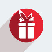 Gift icon — Vettoriale Stock