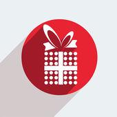 Icona regalo — Vettoriale Stock
