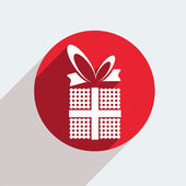 Gift icon — Stockvector