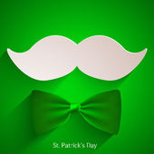 Vector St. Patrick's Day background. Eps 10 — Stock Vector