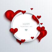 Vettore san valentino sfondo. eps10 — Vettoriale Stock