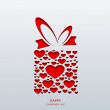 Vector valentines day background — Stock Vector #39842415