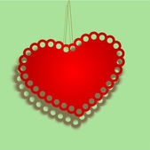 Vector san valentino sfondo — Vettoriale Stock