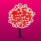Vektor valentinstag hintergrund. — Stockvektor