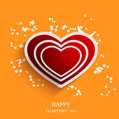 Vector valentines day background. — Stock Vector