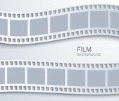 Vector modern film background. — Stock Vector
