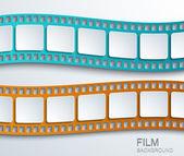 Vector modern film background. — Vecteur