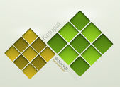 Vector ketupat element design. — Stock Vector