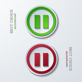 Vector modern circle icons — Stockvektor