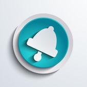 矢量现代蓝色的圆圈图标。web 元素 — 图库矢量图片