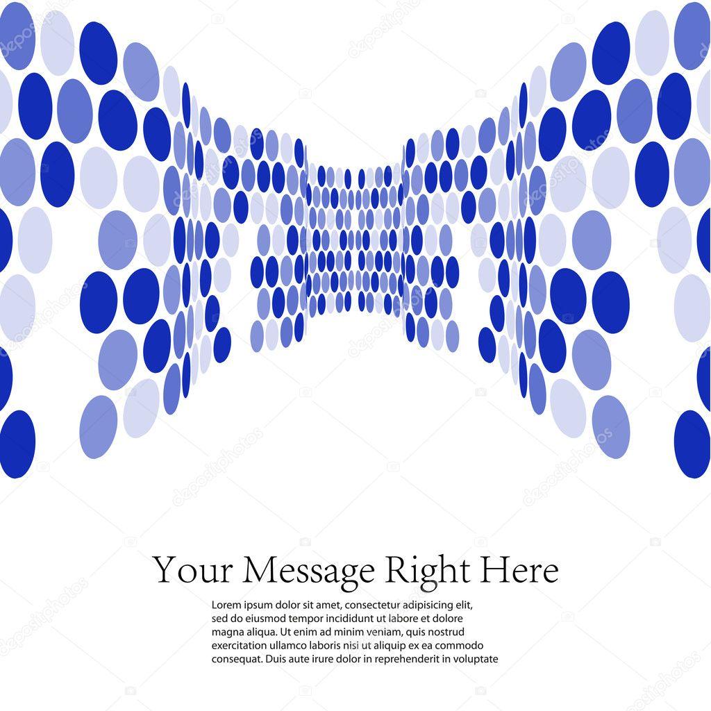 蓝色的商业背景.矢量插画