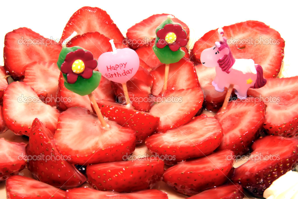 Strawberry Birthday Cake Pinterest Strawberry Birthday Cake