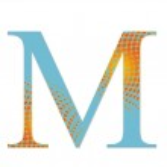 Постер, плакат: M letter slots