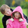 Young beautiful couple — Stock Photo #13408638