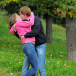 Young couple kissing — Stock Photo #13408642