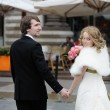 Bride and groom — Stockfoto #13966194