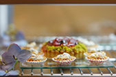 Mini tarts — Stockfoto
