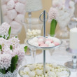 Delicious wedding sweets - Stock Photo