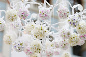 Beautiful flowers decoration — Stock Photo