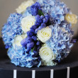Stock Photo: Beautiful wedding flowers bouquet