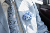 Boutonniere groom — Stock Photo