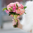 Stock Photo: Wedding flowers bouquet
