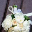 Beautiful wedding flowers bouquet — Stock Photo #31018685