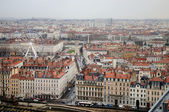 Lyon, France. Aerial and panoramic view. — Stock Photo