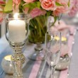Table set for an event party — Stock Photo #44187957
