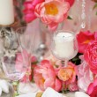 Table set for wedding reception — Stock Photo #47037137