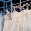 A few beautiful wedding dresses — Stock Photo #47973451