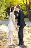 красивая невеста и жених — Стоковое фото
